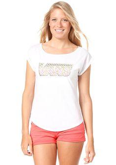 VANS Womens Flag S/S T-Shirt white #planetsports