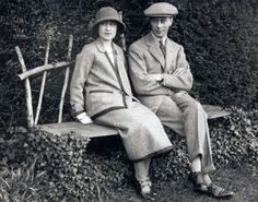 The Duke and The Duchess of York (later King George VI and Queen Elizabeth).