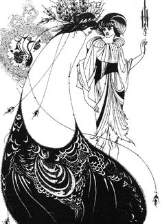 Aubrey Beardsley, Salome, 1893