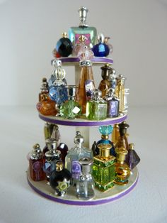 Window display for my perfumes and potions shop