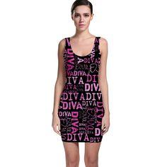 Diva++Bodycon+Dress
