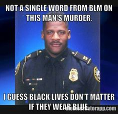 """I'm sick of this """"black lives matter"""" crap. ALL lives matter, every color, gender, religion, age EVERYONE! no one is better than anyone else."""