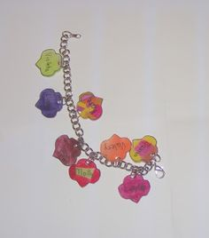 Shrinky Dink Girl Scout Charm Bracelets - be a sister to every Girl Scout!