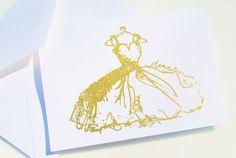 Gold Glitter Sparkling Victorian Bridal by TeroldegoAndTomatoes,