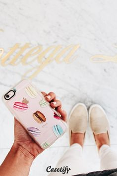 Be a macaron in a cookie cutter world. Click through to see more New Standard iPhone 6 case designs by @hnillustration >>> https://www.casetify.com/hnicholsillustration/collection   @casetify