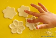 1-spring flower craft salt dough fingerprint Mar 17, 2014, 3-18 PM