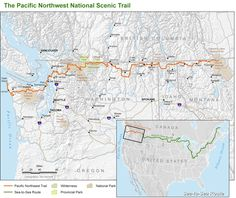 Pacific Northwest National Scenic Trail   besthike.