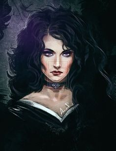 Yennefer fan art