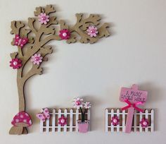 A personal favourite from my Etsy shop https://www.etsy.com/uk/listing/272720516/magical-fairy-door-acessory-set-tree