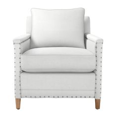 Custom Upholstered Spruce Street Chair in Designer Fabrics | Serena & Lily