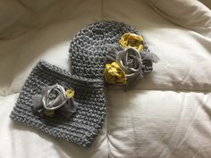 Warmer Set    Hat with matching Cowl by 374threads on Etsy