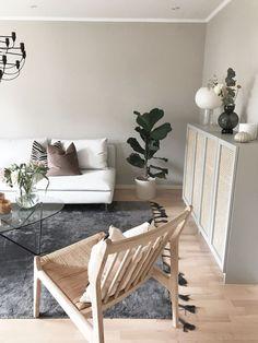 Beautiful Interior Design, Home Interior Design, Plywood Furniture, House Doctor, Home Living, Lounge, Apartment Interior, Living Room Inspiration, Ikea Hack