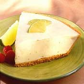 Key Lime Pie Recipe (substitute key limes for limes, butter for margarine)