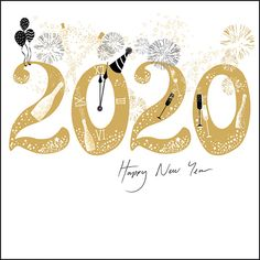 Woodmansterne New Year 2020 Greeting Card 439193 New Year Greetings Quotes, Happy New Year Quotes, Quotes About New Year, New Year Wishes, Happy New Year 2020, New Year Card, Happy New Year Calligraphy, New Year Post, Happy New Year Pictures