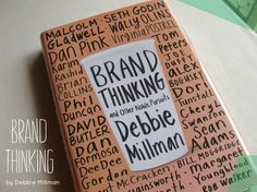 Book Review: branding book Brand Thinking by Debbie Millan via Kaleidoscope design blog