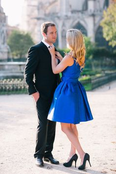 THIS is the dress I need for our photos! Loving this formal engagement shoot