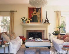 When designer Cristine Gillespie and her husband bought their Los Angeles house from Rachel Ashwell, founder of Shabby Chic, the walls and floors were already white