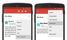New gmail options: block and unsubscribe