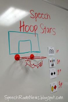 Speech Hoops  -  Pinned by @PediaStaff – Please Visit http://ht.ly/63sNt for all our pediatric therapy pins