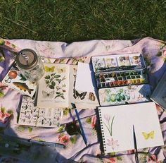 @ Howlovesme ✧ [Aesthetic]  #notebook #colors #painting #art