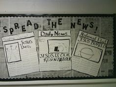Fun and Fantastic Teaching Ideas: Bulletin Boards Newspaper Bulletin Board, Classroom Bulletin Boards, Classroom Walls, Classroom Themes, Teaching Resources, Teaching Ideas, School Newspaper, Class Decoration, Article Writing