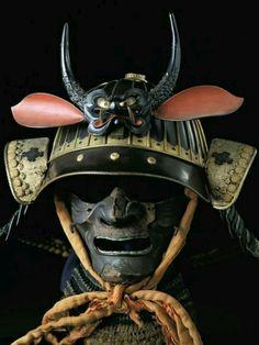 Máscara samurai.