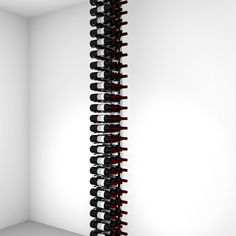 Floor-to-Ceiling | Metal Floor Standing Wine Rack - Ultra Wine Racks Wine Bottle Storage, Wine Racks, Wood Wall Wine Rack, Standing Wine Rack, Bottles For Sale, Flooring Sale, Metal Floor, Wine Collection, Flat Shapes