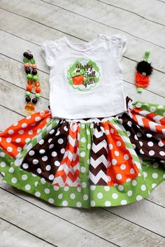 girls fall outfit girl happy fall y'all  by LightningBugsLane, $50.00