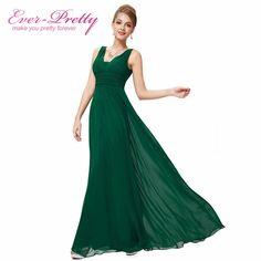Evening Dresses Ever Pretty HE08110 2016 Elegant Black Deep V-neck Maxi Woman Vestidos Longo Evening Dresses