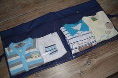 Ótimo para carregar as roupinhas do seu bebê organizadas e com fácil acesso.  Cabem 2 trocas de roupas.  Com botão que evita que a roupa caia do saquinho.  Com bordado no tema desejado e nome do Bebê.  Confeccionado em tecido 100% algodão nas cores e tema que você desejar.  Valor unitário.    Alt...