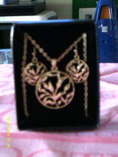 2 Avon Necklaces Gold Tone Brand New