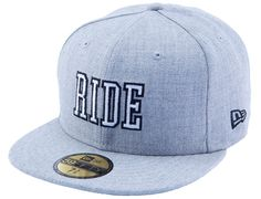 RIDE SNOWBOARDS x NEW ERA「Weathered」59Fifty Fitted Baseball Cap Preview | Strictly Fitteds