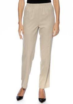 Kim Rogers  Microfiber Pull-On Pants