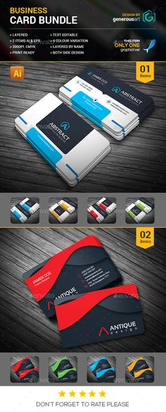 2 Business Cards Templates PSD. Download here: http://graphicriver.net/item/business-card-bundle-2-in-1/16304696?ref=ksioks