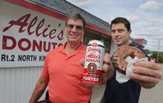 After successful collaborations with Autocrat Coffee Syrup and Del's Lemonade, Narragansett Beer has teamed up with a beloved Rhody doughnut maker to