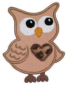 FREE OWL PATTERNS TO APPLIQUE | APPLIQ PATTERNS