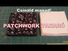 Csináld magad! (DIY) Patchwork takaró - YouTube Patchwork Fabric, Quilt Tutorials, Diy And Crafts, Sewing Projects, Geek Stuff, Quilts, Decor, Creative, Geek Things