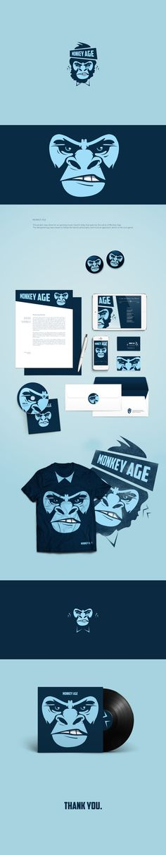 Monkey Age on Behance