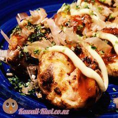 Kawaii Kiwi - Making Takoyaki Takoyaki Pan, Kawaii Shop, Cheesesteak, Kiwi, Cooking, Ethnic Recipes, Food, Kitchen, Essen
