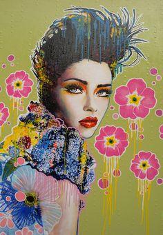 Artist Amylee (Paris) #Painting #art www.amylee-paris.com