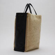 celine nano luggage bag price - Celine Gusset Cabas Shearling Vertical #Celine #TotesShoppers ...