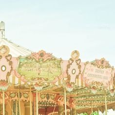 Dreamy Carousel Part 4    8 x 8 Fine Art by francoiserachez, $28.00