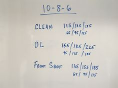 A quick but powerful workout.  From the Garage.
