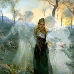 Angels are poised and ready to intercede and act on our behalf when we speak the Word of God.  Quote scripture, pray and ask God to send His intercessors.