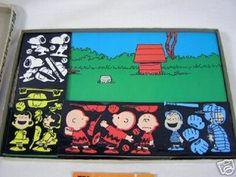 Snoopy Peanuts Colorforms - one of my favorites!
