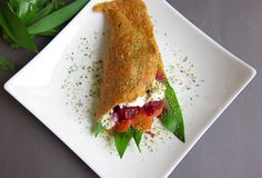 Der erdende Wrap  #wrap #vegan #veggies #oats Plastic Cutting Board, Veggies, Vegan, Vegetables, Vegetable Recipes