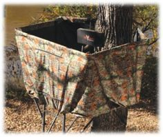 Big Game Treestands The Ultra-View DX™ Ladder Stand Blind Kit   Bass Pro Shops