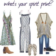 what's your spirit print? by calypsostbarth on Polyvore