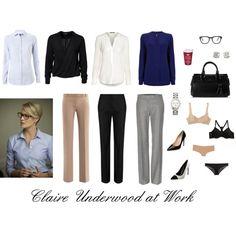 Claire Underwood at Work by stardust305 on Polyvore featuring мода, Wishbone, River Island, Tommy Hilfiger, STELLA McCARTNEY, Freda, DKNY, Dolce & Gabbana Underwear, Cosabella and Diane Von Furstenberg