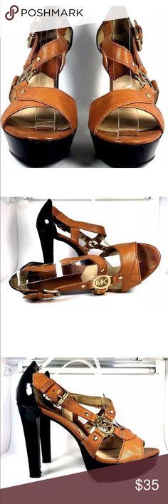 Mk heels Good condition Michael Kors Shoes Heels